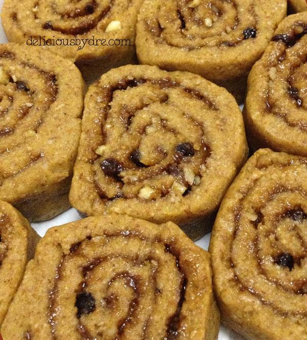 paleo pumpkin protein cinnamon roll recipe