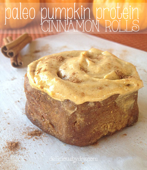 paleo pumpkin protein cinnamon roll recipe