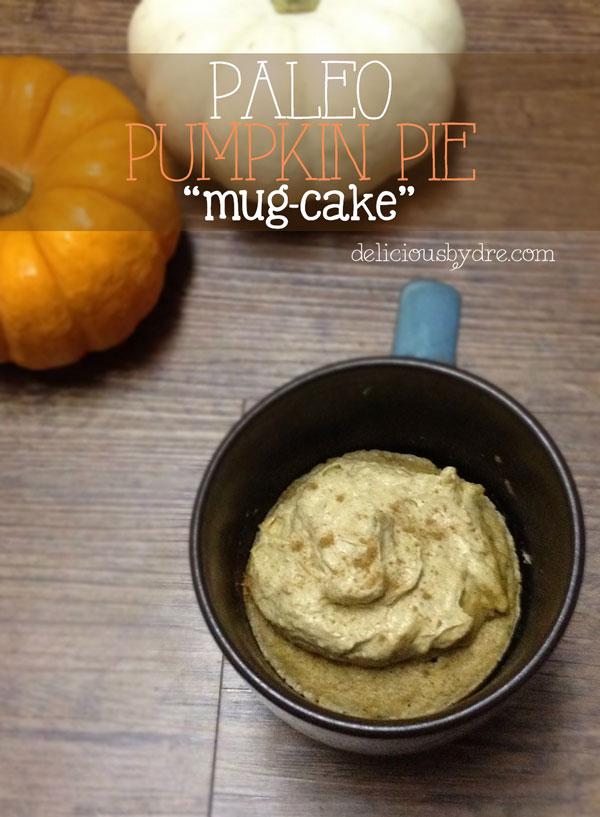 paleo pumpkin pie mug-cake