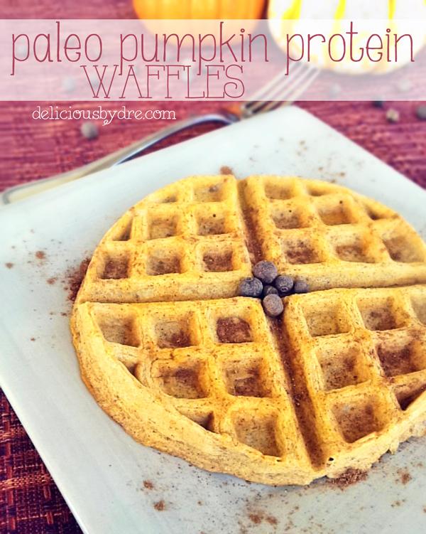 paleo pumpkin protein waffle recipe