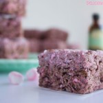 gluten free chocolate peppermint holiday rice krispie treats