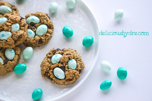 easter egg (monster) cookies
