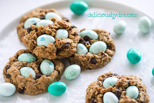 easter egg (monster) cookies