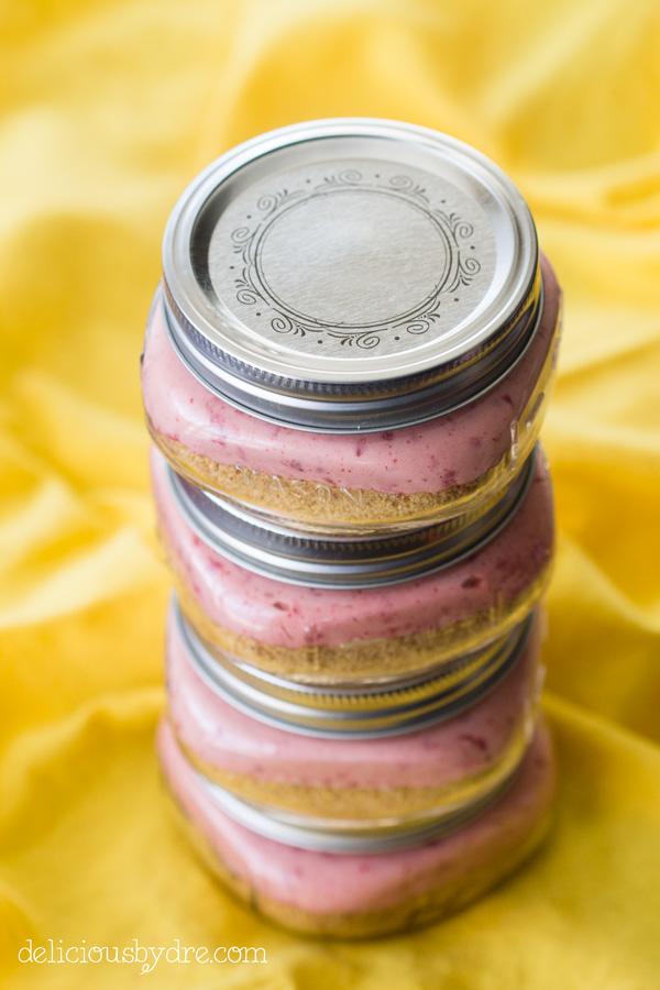 raspberry lemonade no bake cheesecake