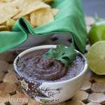jalapeño lime black bean hummus