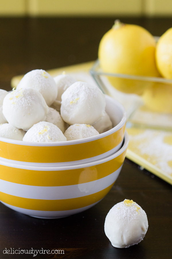 white chocolate lemon truffle recipe