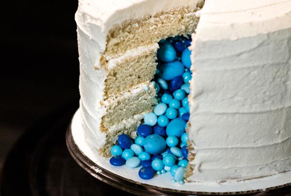 week 18: vanilla {surprise inside} layer cake