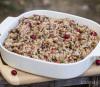 week 23: bacon-cranberry rice stuffing {gluten free!}