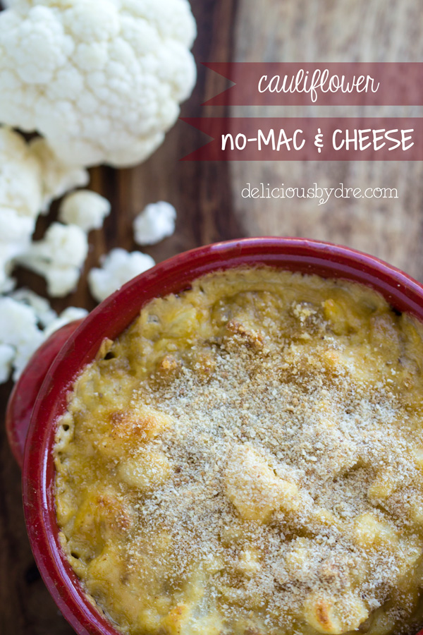 cauliflower no mac and cheese