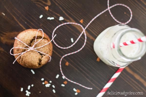 gingerdoodle cookies (gluten free & refined sugar free)