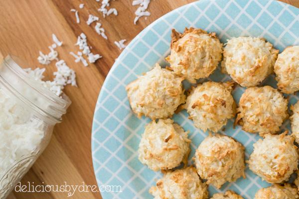 week 35: protein coconut macaroons