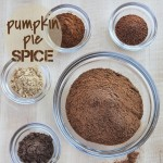 DIY pumpkin pie spice recipe