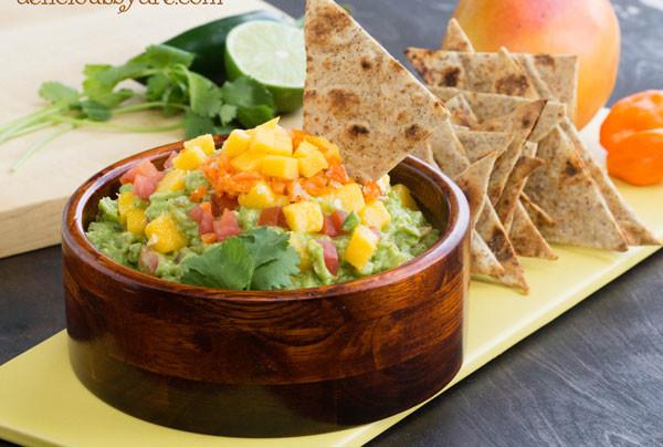 mango-habanero guacamole